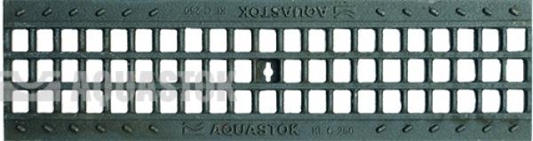 Водоотводная решётка чугунная ячеистая DN100