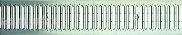 Водоотводная решётка стальная щелевая DN150 оцинкованная