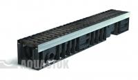 Лоток водоотводный пластиковый ЛВП PROFI DN100 H138 E600 комплект