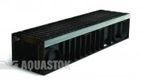 Лоток водоотводный пластиковый ЛВП PROFI DN200 H202 E600 комплект