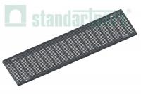 Решетка водоприемная Basic РВ-16.23.100.5.1 стальная оцинкованная ячеистая 55х11, кл. А 232019.1