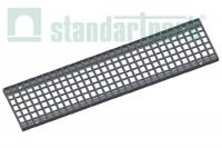 Решетка водоприемная Basic РВ-16.23.100.3.3 стальная оцинкованная ячеистая 33х33, кл.В 232029