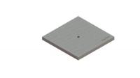Крышка к дождеприемнику PolyMax Basic К-28.28-ПП пластиковая серая 3389-С