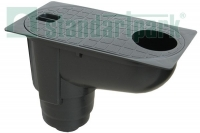 Бокс водосточный PolyMax Basic с вертикальным отводом (ливнеприемник)