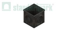 Дождеприемник PolyMax Basic ДП-30.30 пластиковый черный