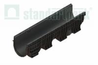 Лоток водоотводный пластиковый Polymax Basic DN200 H300