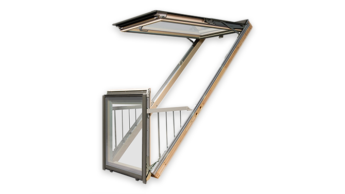 Окно-балкон FGH-V P2